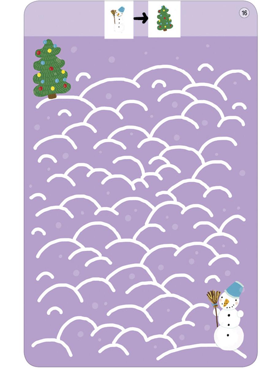 Асборн - карточки. 100 лабиринтов от простых до сложных