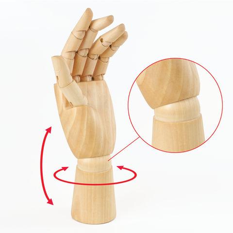 """Модель """"рука"""" 25см женская левая"""