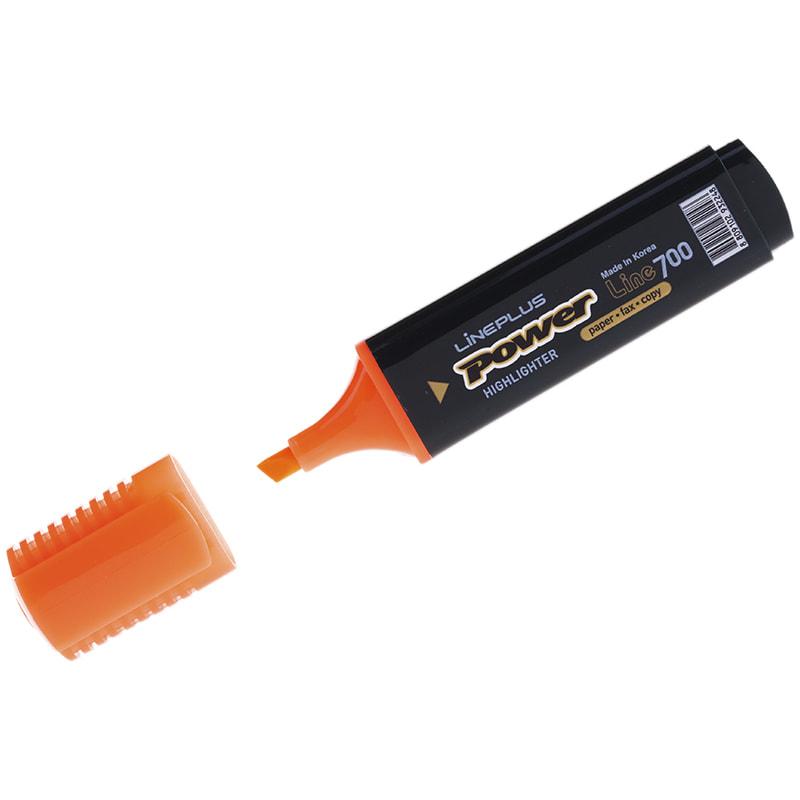 Текстовыделитель Line Plus 5мм оранжевый