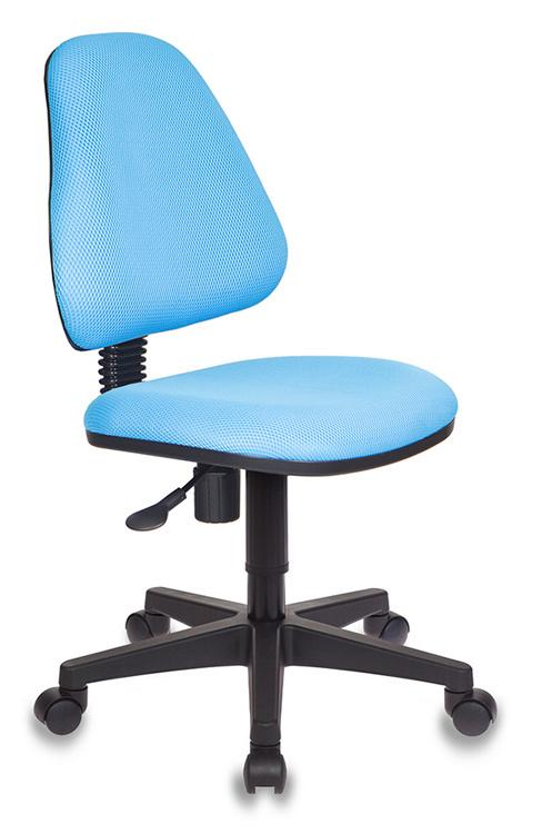 Кресло детское Бюрократ KD-4/TW-55 голубой