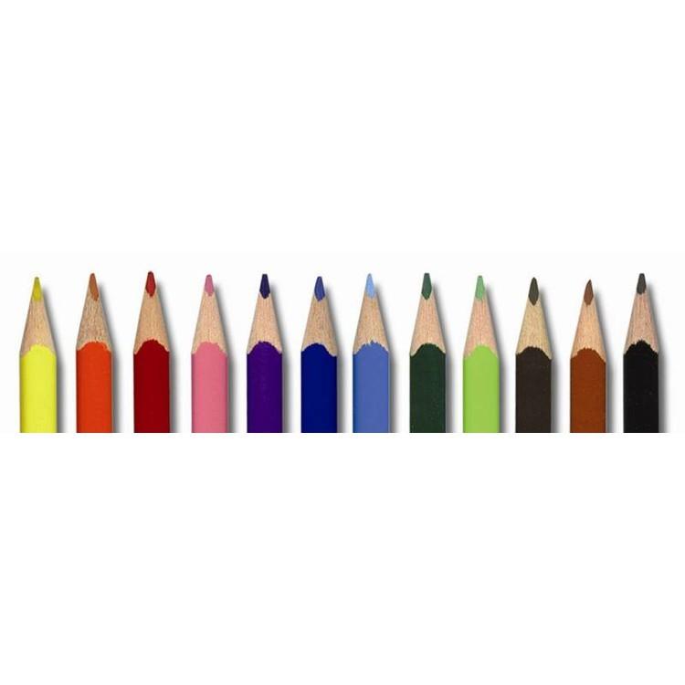 Карандаши 12цв.  Adel Colour TRIO к/у