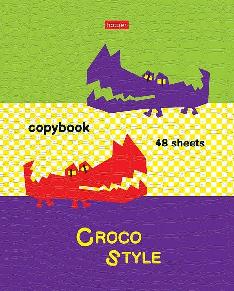 """Тетр. 48л Хатбер CROCO """"Croco style"""" 5диз."""