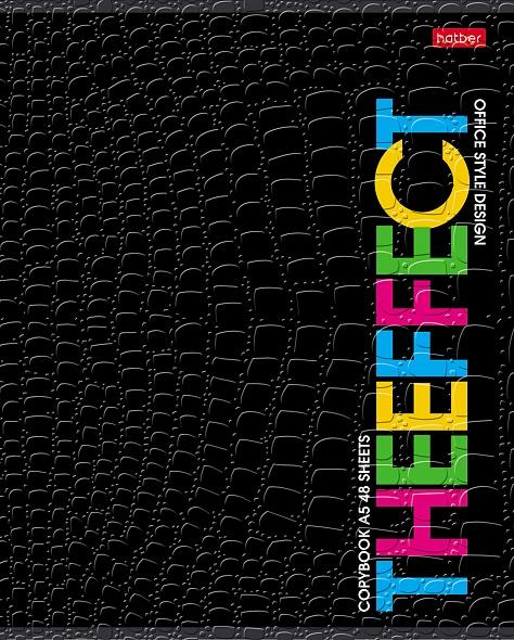 "Тетр. 48л Хатбер CROCO ""Thebook"" 5диз."