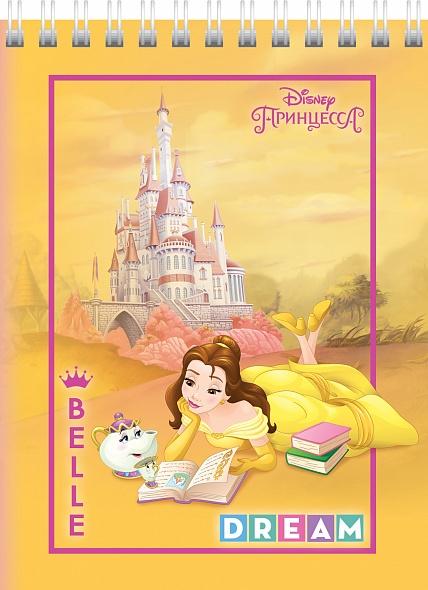 """Блокнот А6 40л Хатбер гр. """"Принцессы"""" (DISNEY)"""