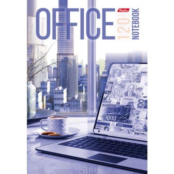 "Бизнес-блокнот А5 120л Хатбер поролон ""Office"" тон.блок"