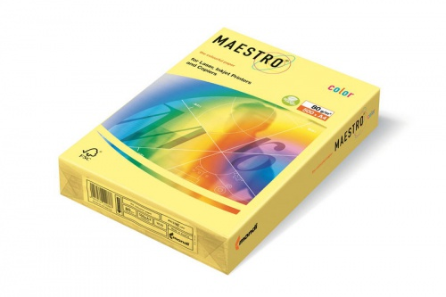 "Бумага ""Maestro Color Pale"" А4 80г/м2 100л желт."