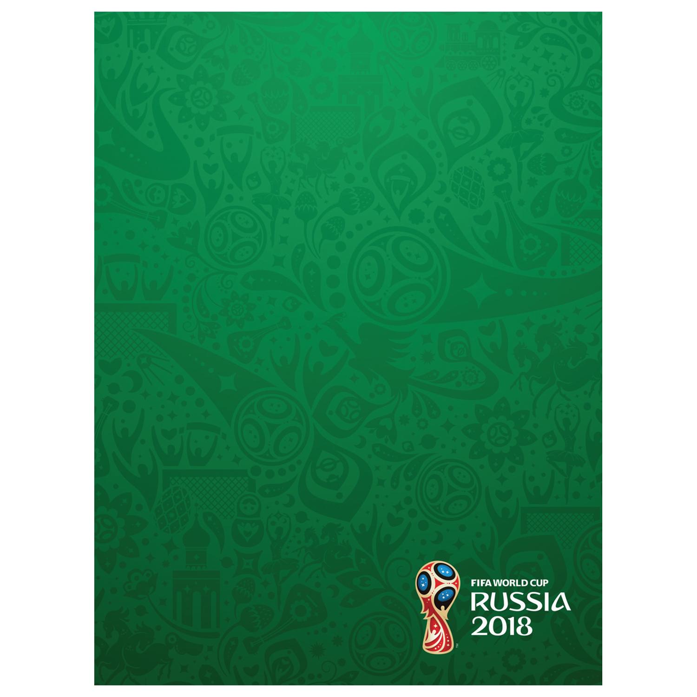 Бизнес-блокнот А5 80л Хатбер тв. обложка ЧМ по футболу 2018