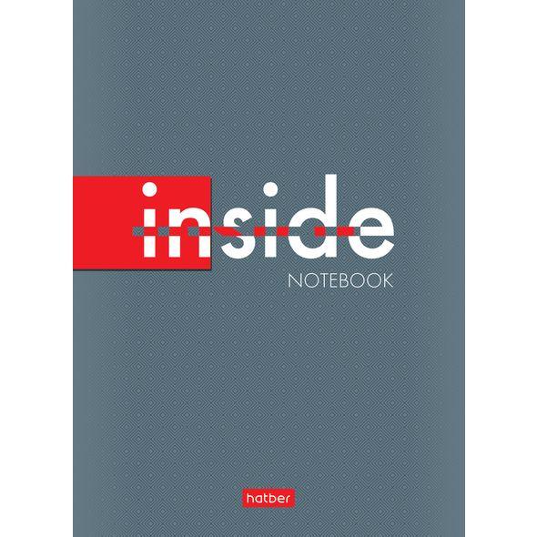 """Блокнот А6 32л Хатбер """"Inside"""""""