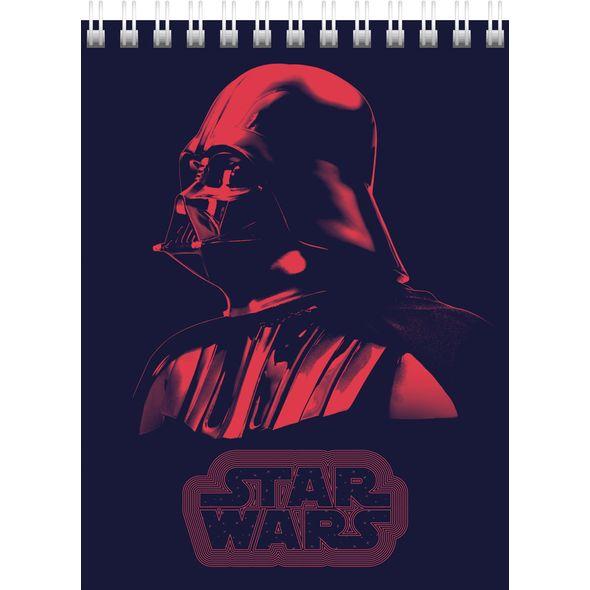 "Блокнот А6 40л Хатбер гр. ""Звездные войны"" Lukas-Stars Wars"