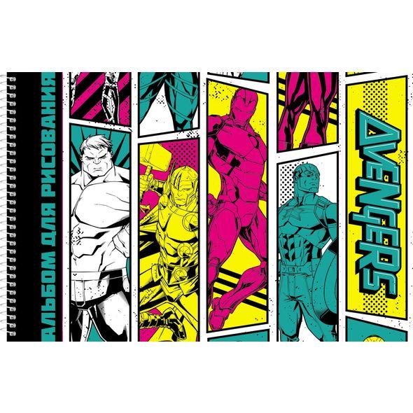 """Альбом д/рис. 32л Хатбер спир. перф. """"Мстители""""(Marvel)"""