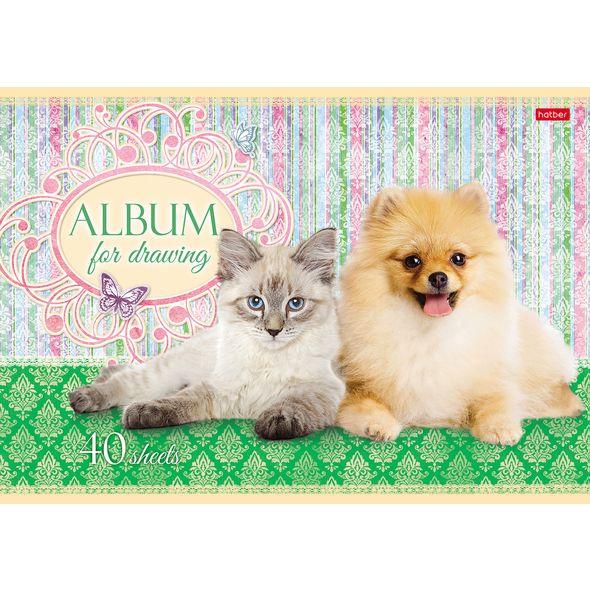 """Альбом д/рис. 40л Хатбер """"Маленькие друзья"""""""