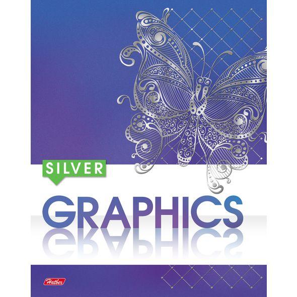 """Тетр. 48л Хатбер 3Dфольга """"Graphics"""""""