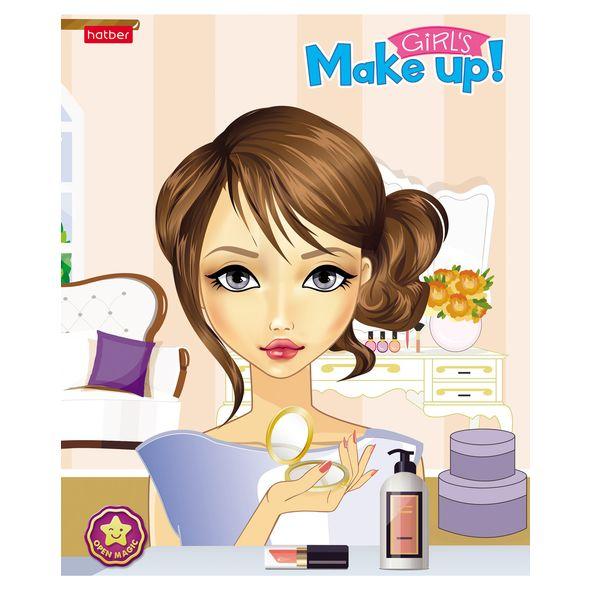 "Тетр. 48л Хатбер 4D ""Make-Up"""