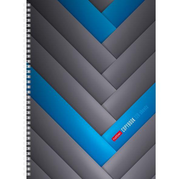 """Тетр. А4 120л Хатбер гр. тв.обл.""""Blue Line"""""""