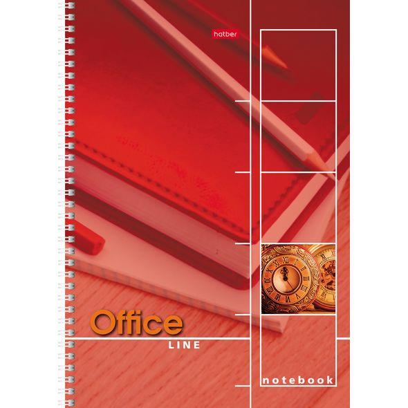 "Тетр. А4  80л Хатбер гр. выб.лак ""Office Line"""