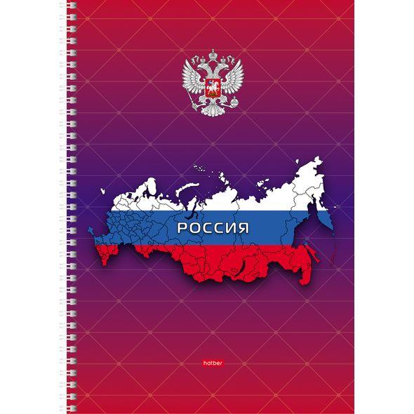 "Тетр. А4  96л Хатбер гр. ""Россия"""