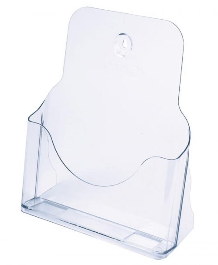 Буклетница СТАММ А4 прозрачная
