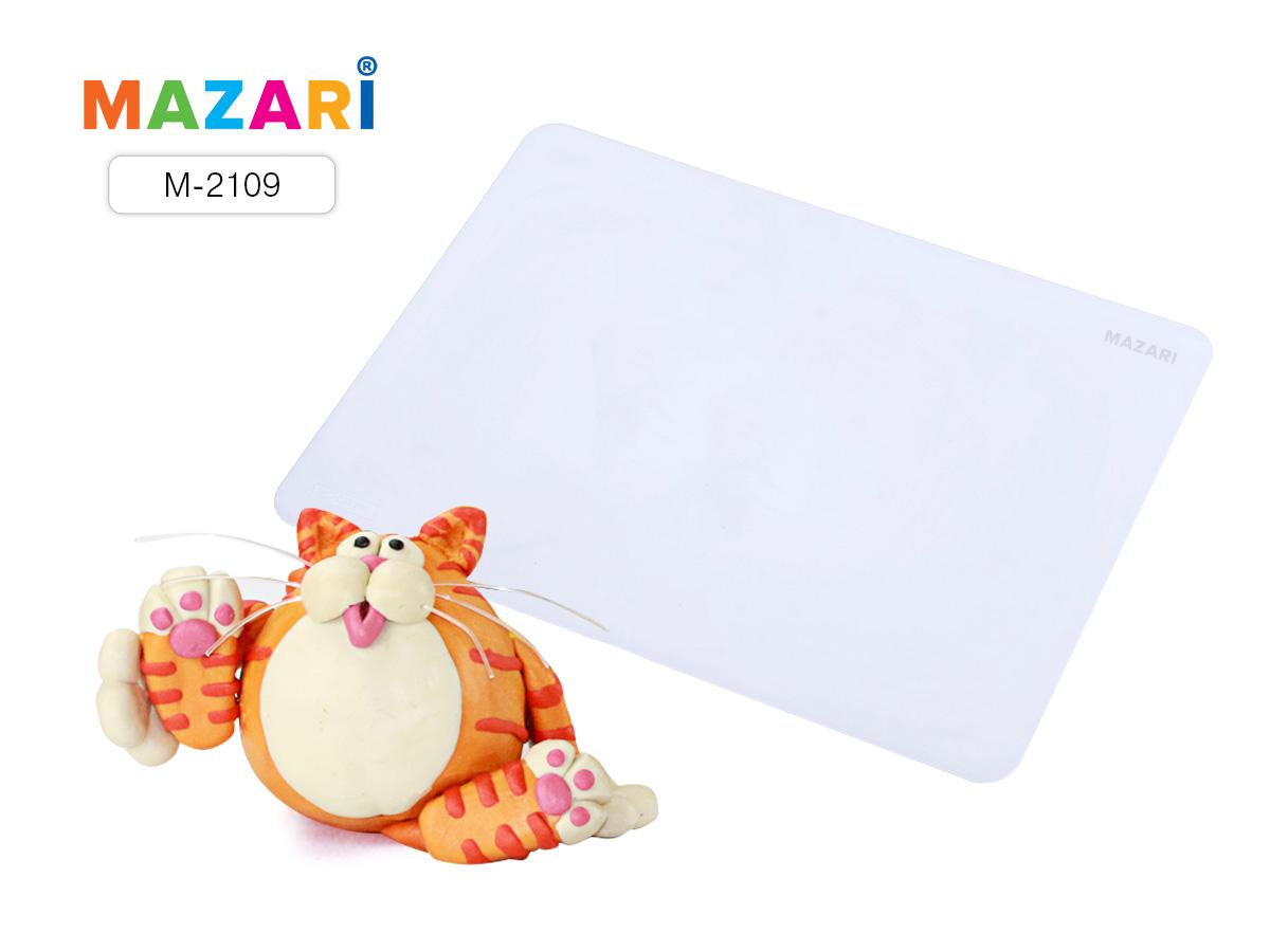 Доска для лепки А3 Mazari пластиковая 1мм цв.белый