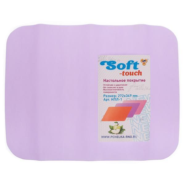 Настольное покрытие для лепки Soft-touch 272*349 ассорти