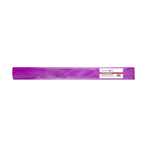 Бумага креповая 50*100 60г/м металлик розовая