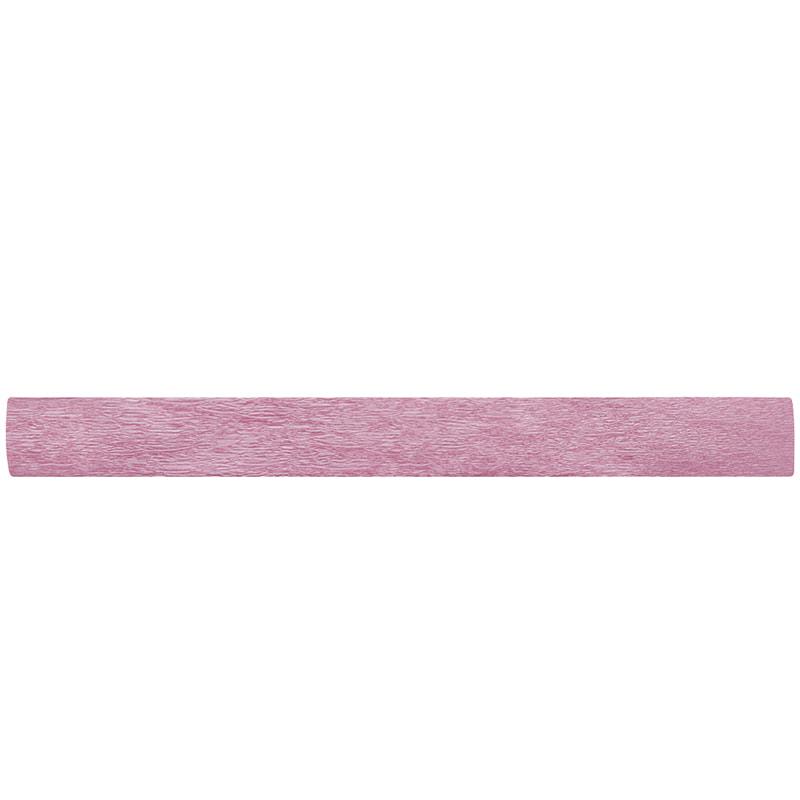 Бумага креповая 50*200 22г/м перламутр розовый
