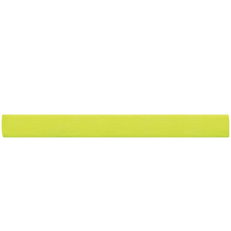 Бумага креповая 50*200 22г/м флюоресц. желтая