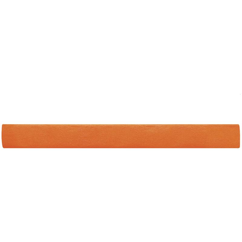Бумага креповая 50*200 22г/м флюоресц. оранжевая