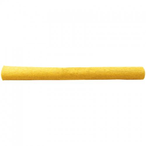 Бумага креповая 50*250 128г/м флористич. желтая