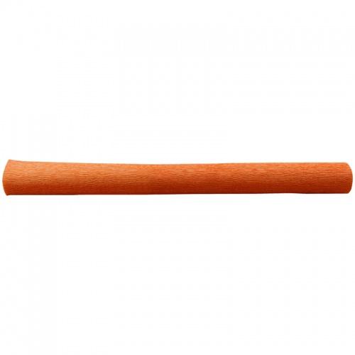 Бумага креповая 50*250 128г/м флористич. оранжевая