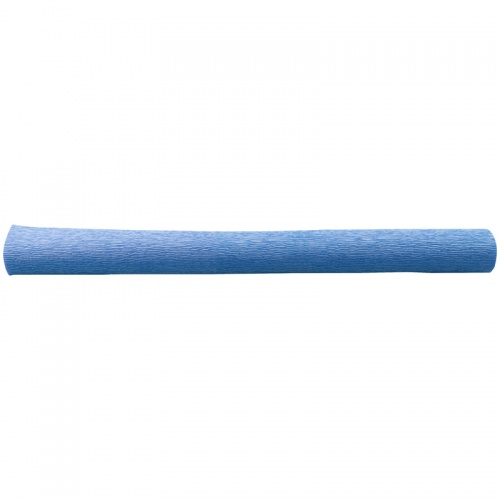 Бумага креповая 50*250 128г/м флористич. синяя
