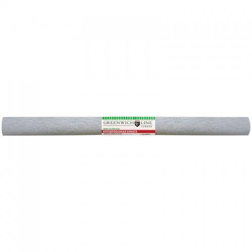 Бумага креповая 50*250 22г/м серебряная