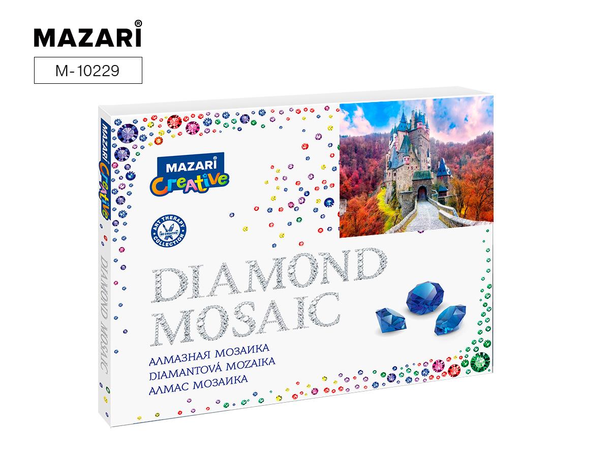 Алмазная мозаика 40*50см Дорога к замку