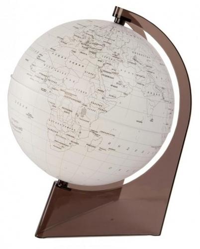 Глобус д/детей 210мм земли контурный