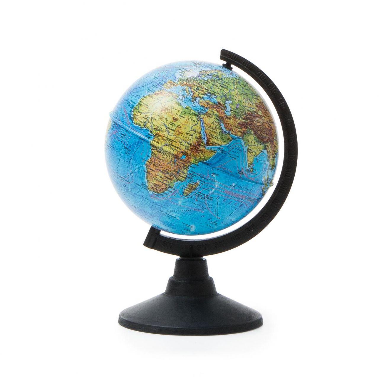 Глобус физический 120мм.