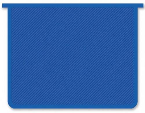 Папка д/тетр. А4 Пчелка на молнии  синяя прозрачная