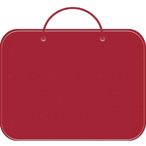 Папка менеджера А4 Пчелка ткань красная