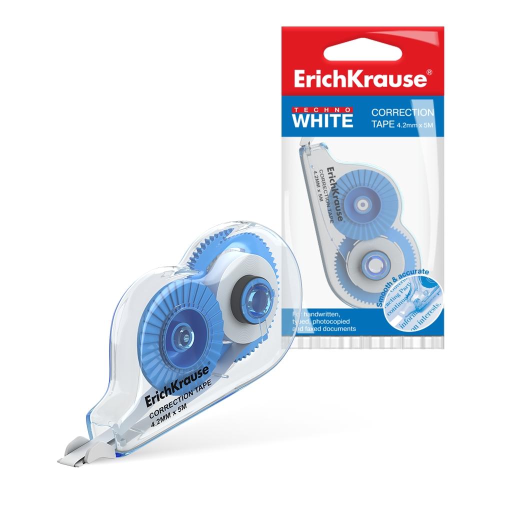 Коррект. лента  ErichKrause Techno white mini 4.2мм*5м