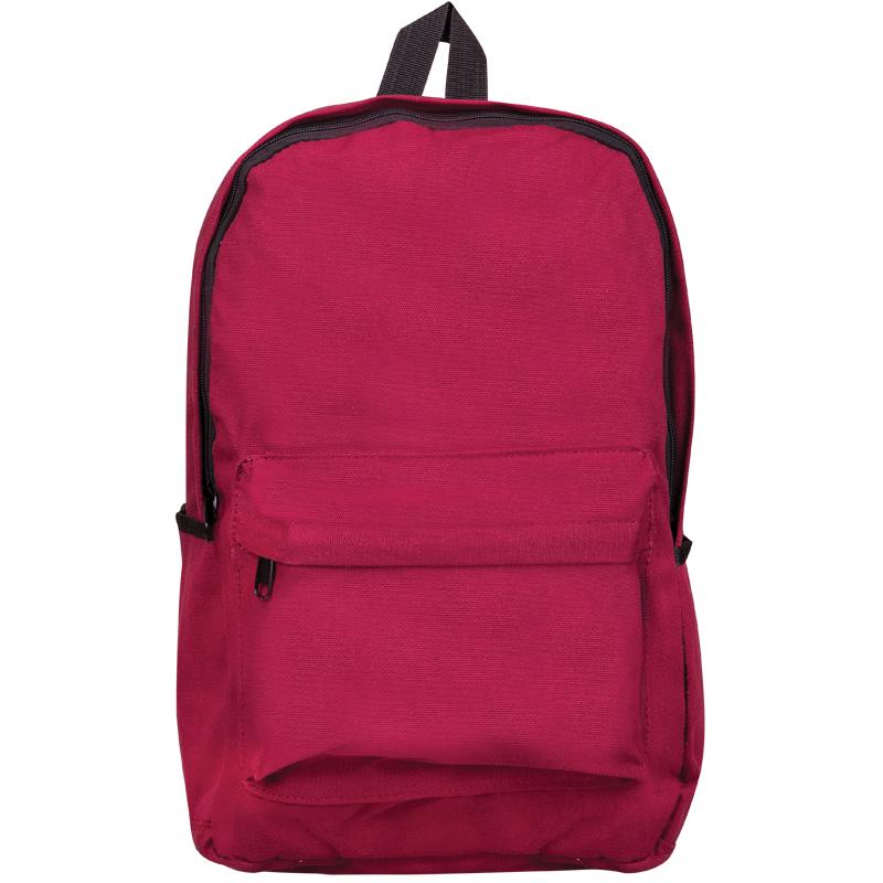 """Рюкзак ArtSpace """"Street Plus"""" 43*31*15см, 1 отделение, 3 кармана, уплотненная спинка, бордовый"""