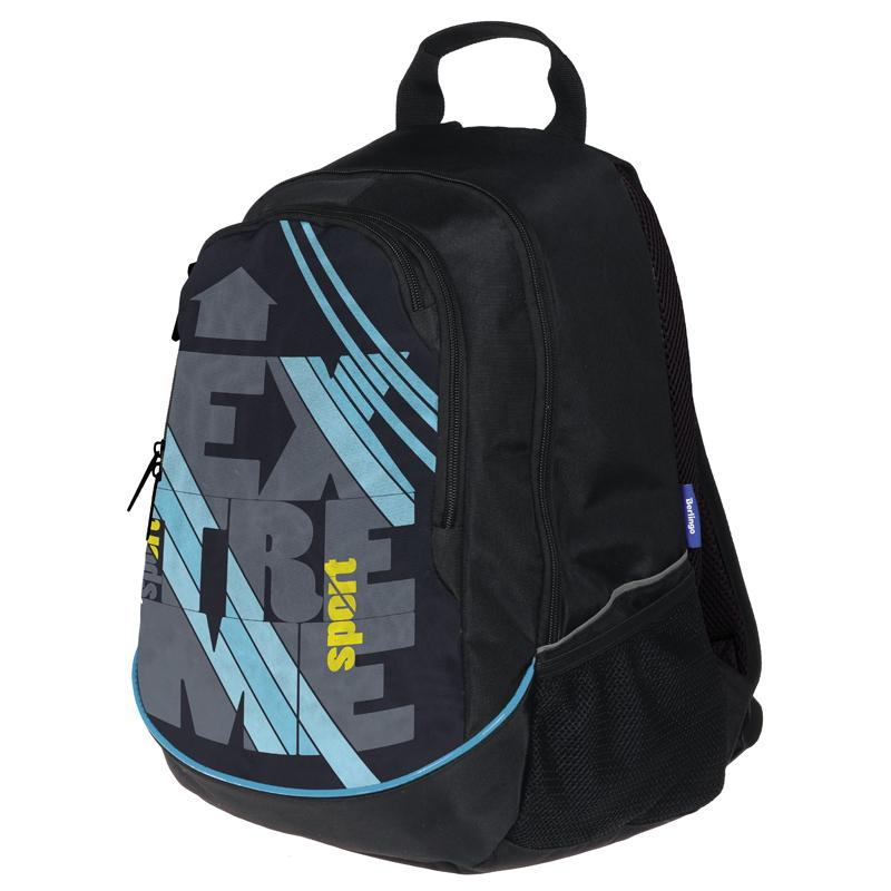 """Рюкзак Berlingo Style """"Extreme"""" 42*30*17см, 2 отделения, 4 кармана, эргономичная спинка"""