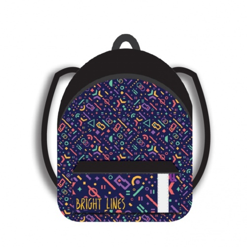 Рюкзак молодежный Пчелка 410*300*130 Конфетти