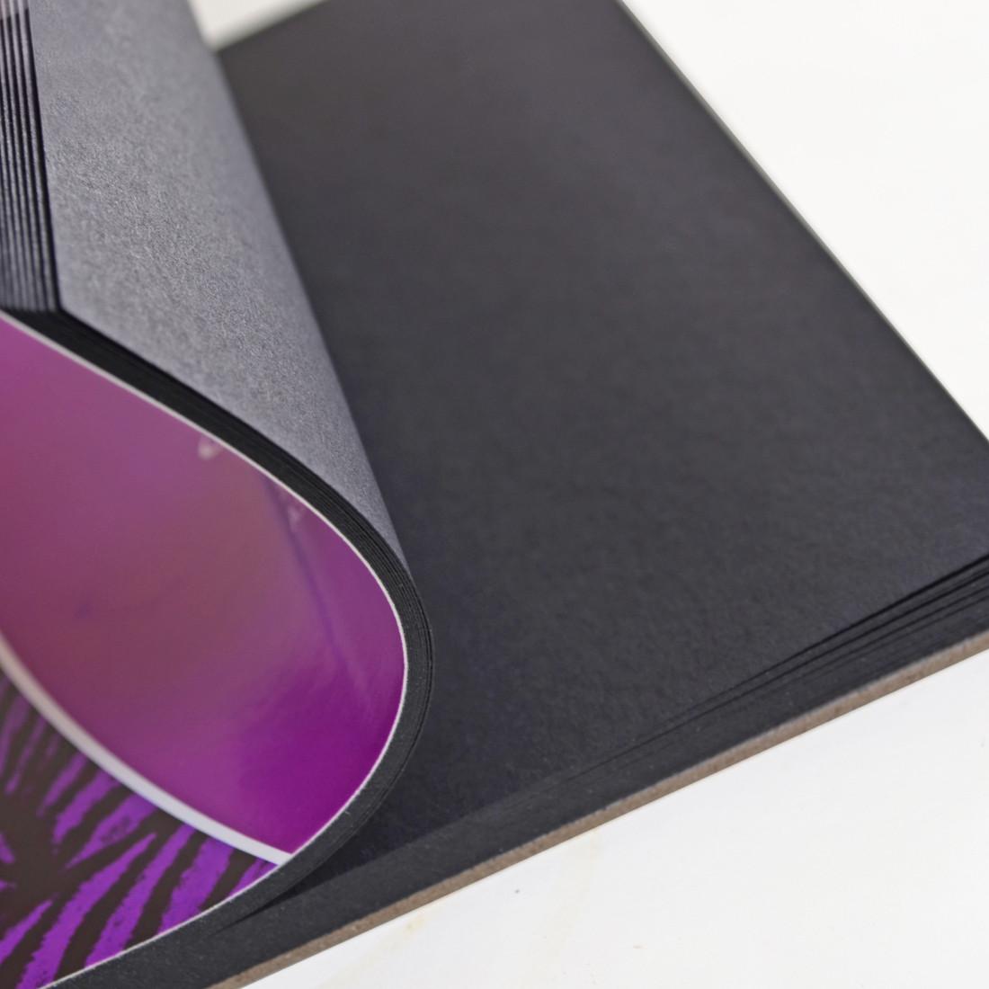 Альбом черной бумаги А4 Сонет 32 листа 150г/м