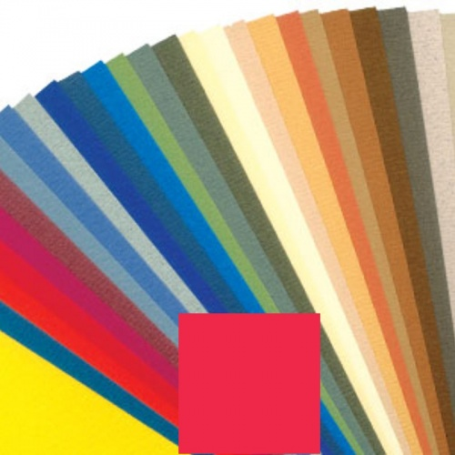 Бумага для пастели LANA 160г/м2 50х65см красный