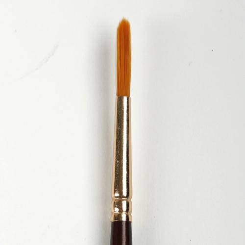 Кисть синтетика круглая Decola № 8 (4 мм)
