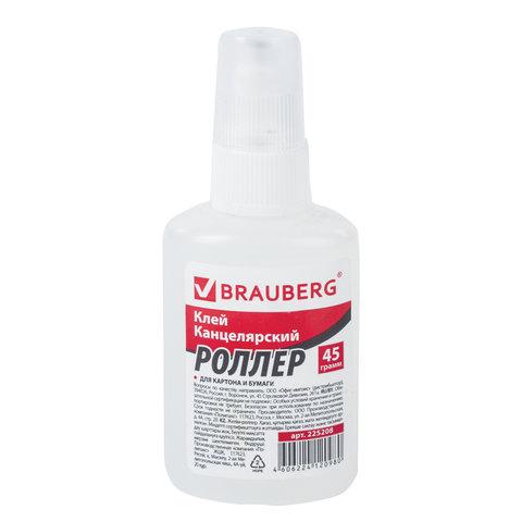 Клей-роллер Brauberg силикатн. 45г