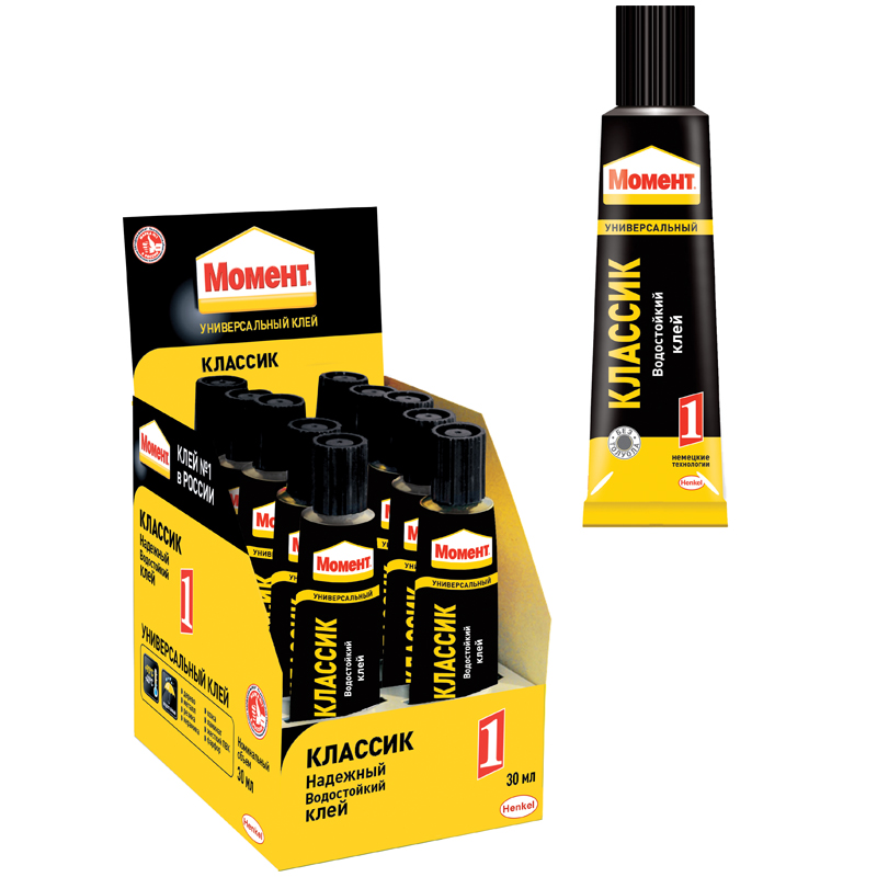 Клей Henkel Момент-1 Классик 30мл