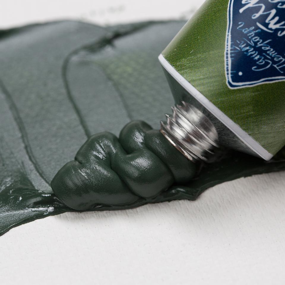 Краска худ. масл. Мастер Класс 46мл зеленая тавуш