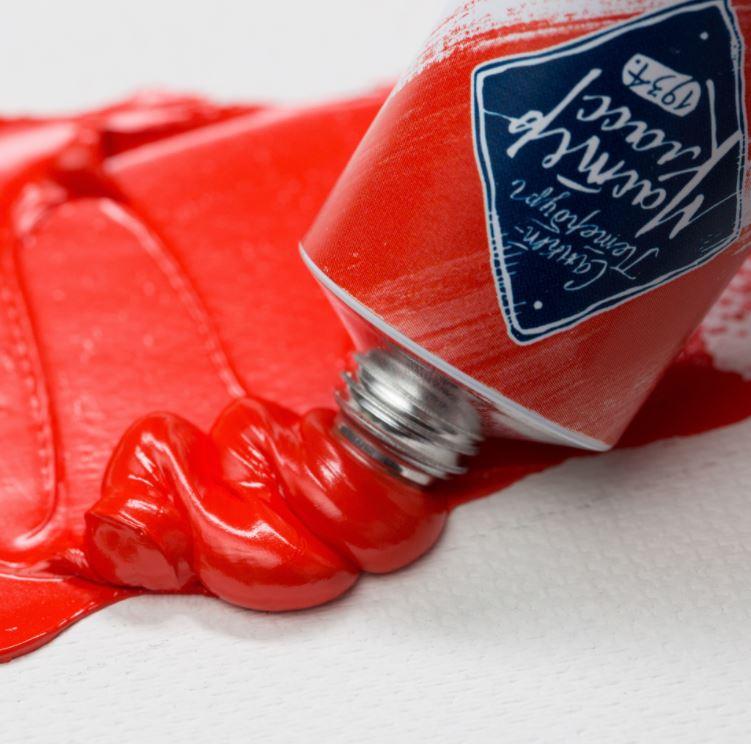 Краска худ. масл. Мастер Класс 46мл кадмий красный светлый