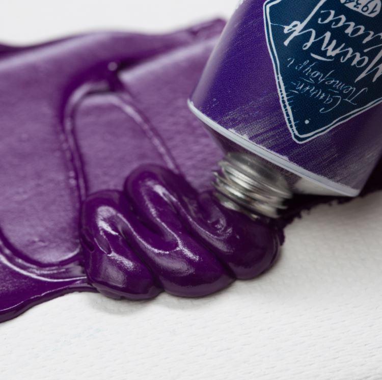 Краска худ. масл. Мастер Класс 46мл кобальт фиолетовый тёмный