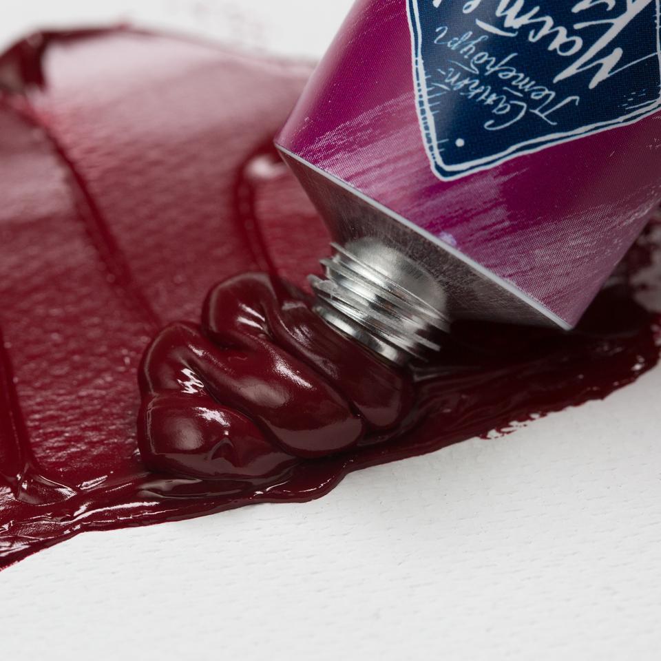 Краска худ. масл. Мастер Класс 46мл краплак фиолетовый прочный