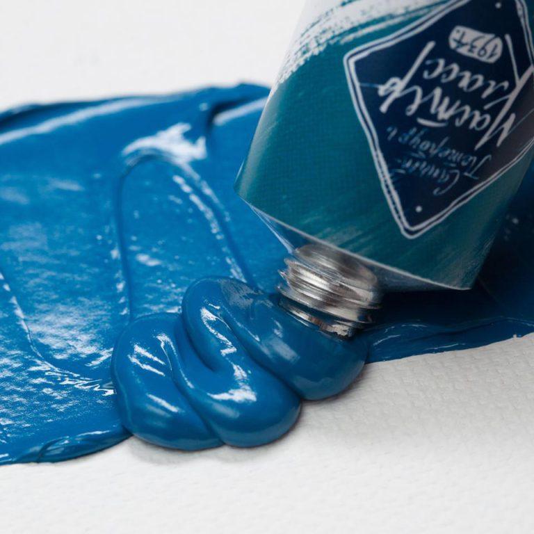 Краска худ. масл. Мастер Класс 46мл хром-кобальт зел-голуб